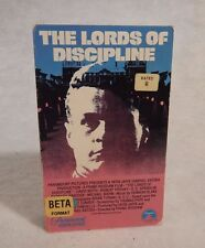 Betamax Beta  LORDS OF DISCIPLINE  David Keith 1983