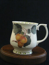 """Hookers Fruit The Royal Horticultural Society """"Apricots"""" China Mug by Queen's"""
