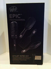 Wet Brush Epic Stylist Intro Kit - Round, Vent, Extension, & Wet Brush & 2 Combs