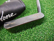 """USED TAD MOORE PEACH PUTTER BLADE STYLE 34.5"""" PUTTER TAD MOORE P3 BLADE PUTTER"""