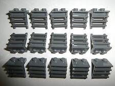 LEGO EISENBAHN   15 x Leiter / Treppe / Stufenleiter 4175 in grau 1x2x2  NEUWARE