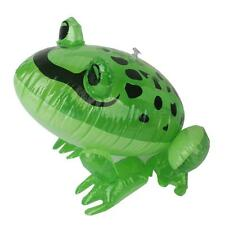 Inflatable Frog Animal Kids Party Game Favors Pool Beach Funny Toy Blow Up