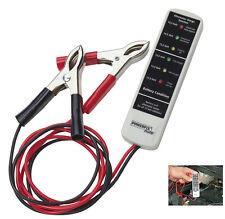 Batterietester & Lichtmaschinentester Batterie Tester für alle 12V Batterien NEU