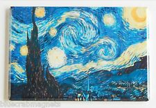 Starry Night FRIDGE MAGNET (2 x 3 inches) vincent van gogh painting f612