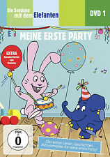 DVD * DIE SENDUNG MIT DEM ELEFANTEN DVD 1 - MEINE ERSTE PARTY # NEU OVP §
