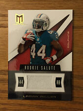 2012 Panini LAMAR MILLER Game Used Jersey Relic Football Card #259 of 375