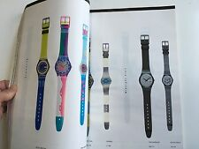 Swatch Watch Collection Catalog 1983-1990