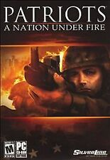 PATRIOTS: A NATION UNDER FIRE (2007) PC CD-ROM NEW & FACTORY SEALED