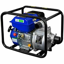 Gas Powered Water Pump Flood Irrigation Portable 7 HP 158 Gallon Transfer Minute