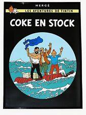 TINTIN POSTER GROSS - COKE EN STOCK / KOHLE AN BORD 70 x 50 cm TIM & STRUPPI NEU