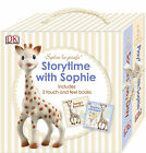 Vulli STORYTIME WITH SOPHIE SLIPCASE BOOKS Baby/Toddler/Child Giftset BN