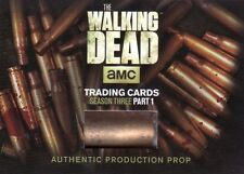 Walking dead saison 3 partie 1 authentic douille SC-01 prop carte