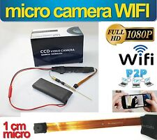 MINI TELECAMERA WIFI HD INTERNA SORVEGLIANZA INTERNET SPY MINI DVR 5 MPX ANTENNA