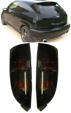 SMOKED REAR TAIL LIGHTS LAMPS FOR FORD FOCUS MK1 1998-10/2004
