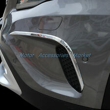 New Chrome Front Air Vent Eyebrow Trim For Mercedes-Benz GLA Class 2015 2016