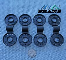 SHANS Shade Cloth Fabric Clips 20-Count, Multicolor