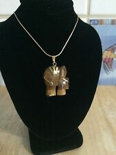 Necklace elephant aye tiger. On Sale for Mother Day.