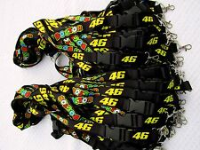 100 x Custom Printed Lanyards with Plastic Buckle and Strong Metal Clip - 25mm