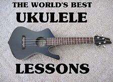The World's Best Ukulele Lessons on DVD. For Guitar Players. Learn VERY Fast!