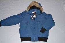 AUTHENTIC PENFIELD MENS EDSON REAL FUR DOWN INSULATED GLACIER BLUE XL XLARGE NEW