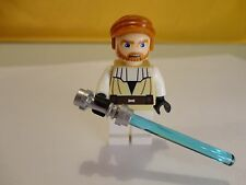 LEGO OBI WAN KENOBI w/ light sab minifigure 9525 Mandalorian STAR WARS mini fig