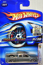 HOT WHEELS 2006 FIRST EDITIONS NISSAN TITAN #031 FACTORY SEALED