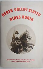 VTG 1957's DEATH VALLEY SCOTTY RIDES AGAIN Scotty Tells His Own Story Booklet