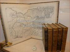 GIORNALE GENIO CIVILE 1863-1866 in 5 voll + ATLANTE Tavole Ponti Ferrovie Fari