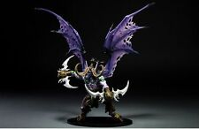 WOW WORLD of WARCRAFT ILLIDAN STORMRAGE DELUXE BOXED ACTION FIGURE STATUE TOY