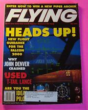 FLYING MAGAZINE MAY/1999...NEW FLIGHT GUIDANCE FOR THE FALCON 2000