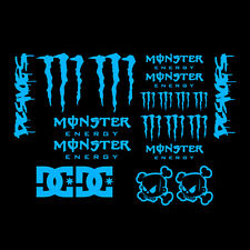 20x JDM CLAWS BLOCK DC SHOES DECAL STICKERS CAR MOTORBIKE BMX BIKE HELMET