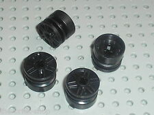 Roues LEGO Racers black Wheels 18 x 14 ref 55982 / Set 8088 8161 5974 8159 8630