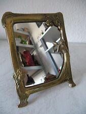 RAR!! Sehr dekorativer Messing Standspiegel im Stil des Jugendstils (B899)xx