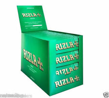 Rizla Regular Standard Green Cigarette Rolling Papers FULL BOX 100 BOOKLETS