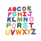 Set of 26 Letters Cartoon Educational Toy Wooden Fridge Magnet Baby Kids Gift