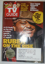 Tv Guide Magazine Ruben Studder & Clay Aiken November 2003 020315R