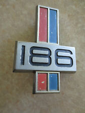 Original Holden HK HT 186 fender badge