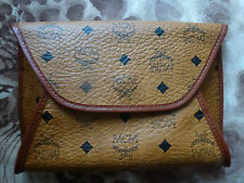 "Authentic *MCM* - CLUTCH ""DOUGLAS"" in cognac ---- condition : NEW"