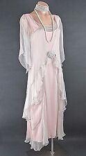 PINK Nataya Dress Gatsby Victorian 10920's style Formal Romantic wedding M NWT
