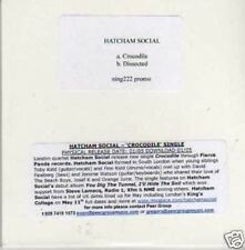 (679I) Hatcham Social, Crocodile / Dissected - DJ CD