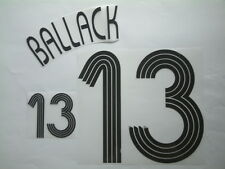 "BALLACK NOME+NUMERO REPLICA GERMANY HOME UNOFFICIAL NAMESET ""GERMANY 2006"""