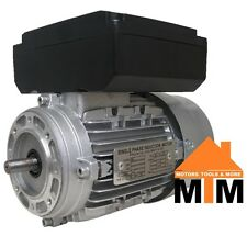 Single Phase Electric Motor 240v 1.1 kW 1.5 HP 2800rpm 2 Pole IMB14 Flange