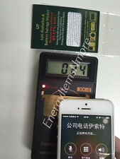 Anti-radiation Cell Phone EMF Shield for Health Safety- New Improved 97.17%