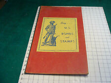 vintage WWII buy US Bonds & Stamps Chess or Checker board w ads
