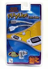 NEW InterAct PlayLine Link Cable GBA Game Boy Color/Advance SP WHITE port shark
