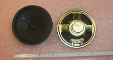 "QTY  (2)  3"" 8 Ohm 0.5W ROUND SPEAKERS 77RP03 BUKDOO HOBBYIST PROJECT/RADIO TV"