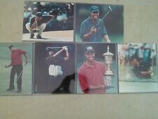 1997 Topps Golf TIGER WOODS Photos Pack of 6-8 x10's OPENED PACKAGE The Masters