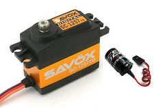 Savox SC-1257TG Super Speed Titanium Gear Digital Servo w/ Free Glitch Buster