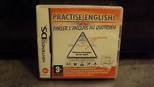 NINTENDO - Jeu DS: PRACTISE ENGLISH - complet