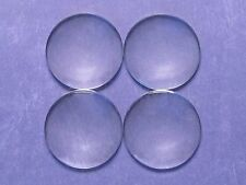 20 Round Glass Dome Cabochons - 40mm - Clear Magnifying Pendant Cab - 1 9/16""
